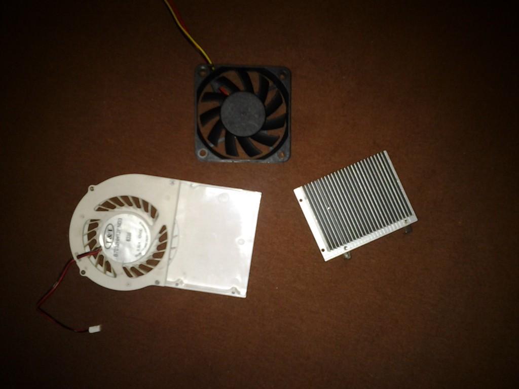 Охлаждение Radeon X1300 PRO